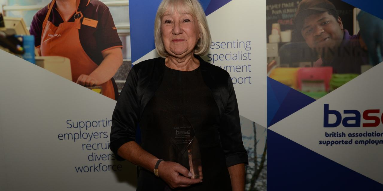 Prestigious award presented to disability employment specialist