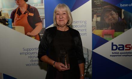 Prestigious award presented to disability employment specialist