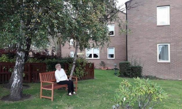 Bench Donation in Bonnyrigg Has Tenants Sitting Pretty