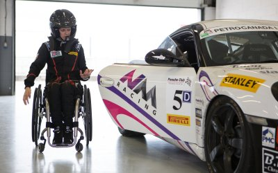 Disabled racing driver to present Grand Prix trophy