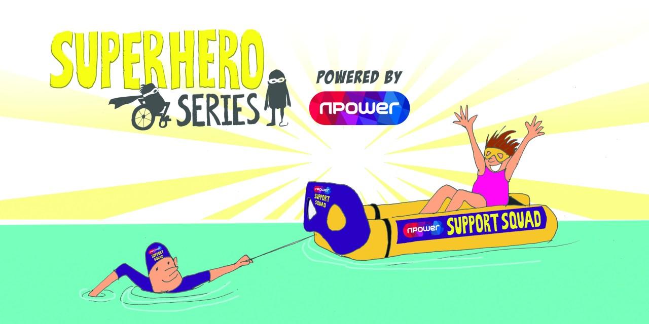 Npower keeps participants afloat at Superhero Tri