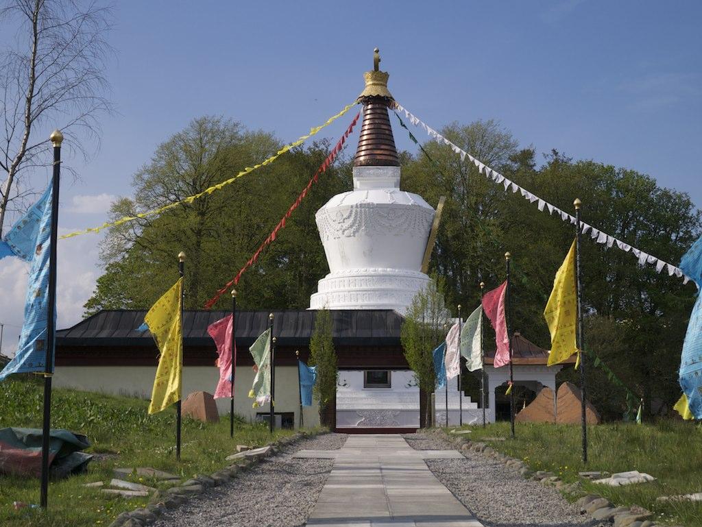 Kagyu Samye Ling Monastery retreat