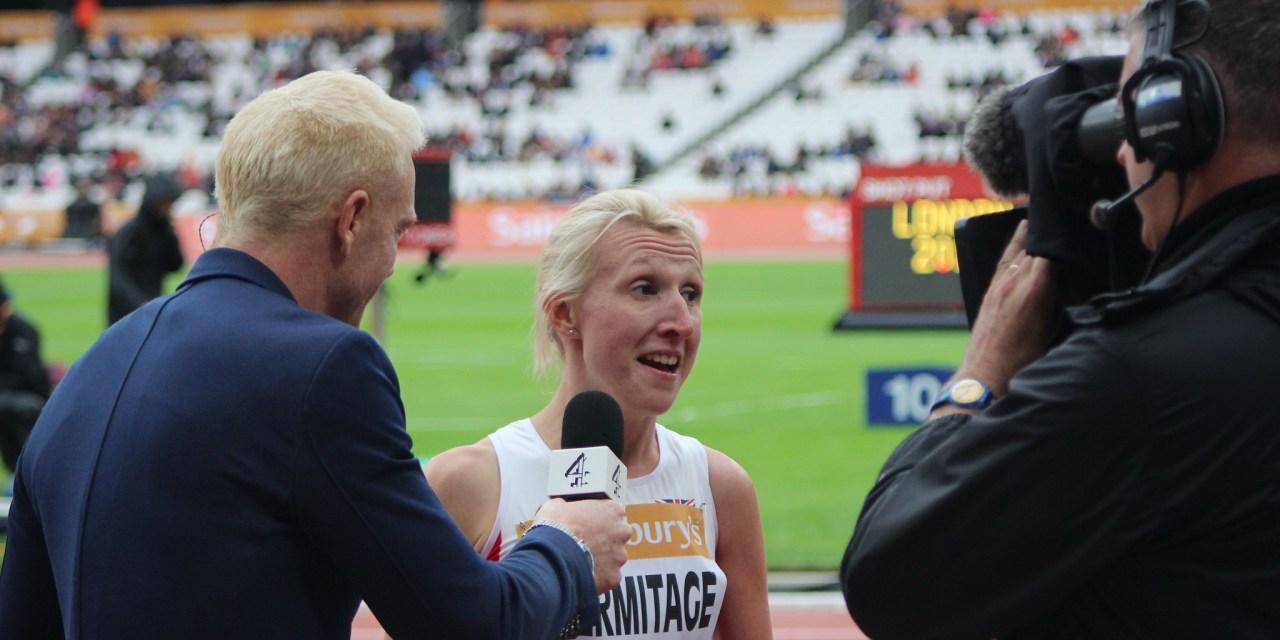 Georgina Hermitage announces retirement