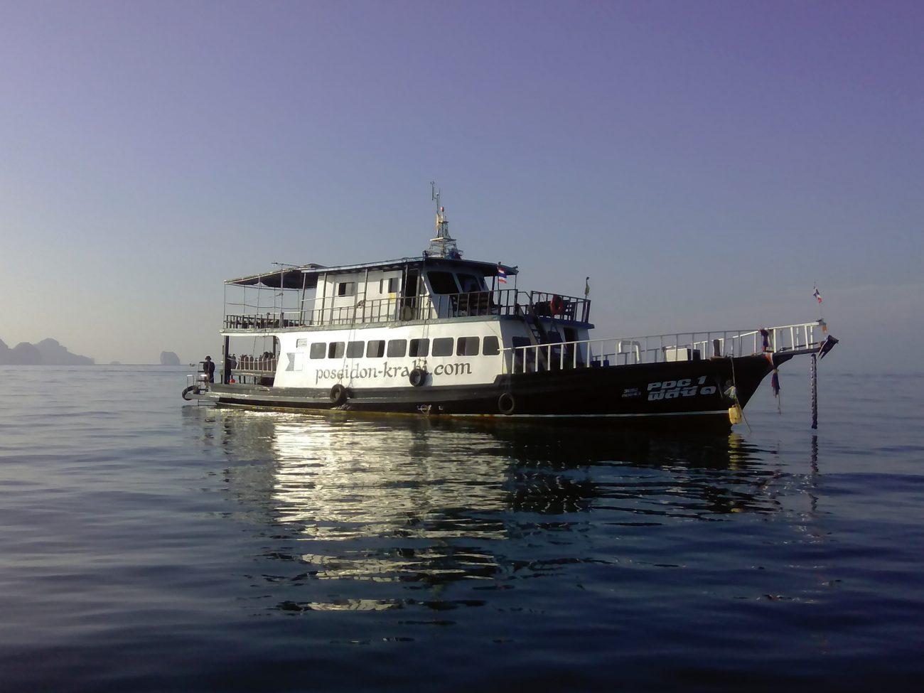 Dive Boat Poseidon Dive Center