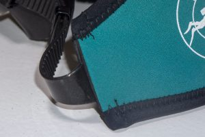 Mask Band Green attached Detail (Mask not included)