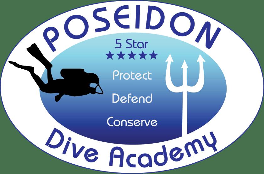 Poseidon Dive Center Logo ดำน้ำอ่าวนางกระบี่