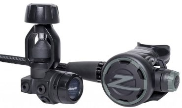 Oceanic Zeagle F8 Scuba Regulator