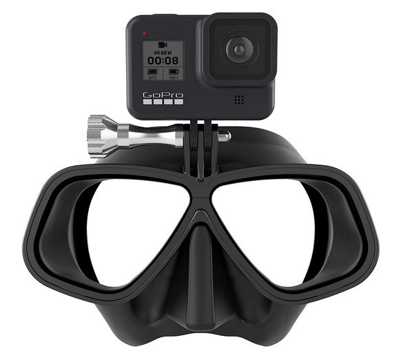 OCTOMASK - Frameless Dive Mask Mount for All GoPro