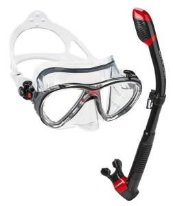 Cressi Big Eyes Evolution Mask and Snorkel Set with Premium Dry Top Snorkel
