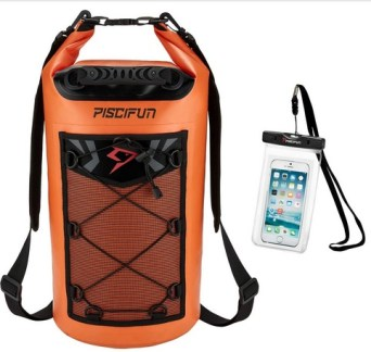 Piscifun Waterproof Dry Bag Backpack 5L 10L 20L 30L 40L