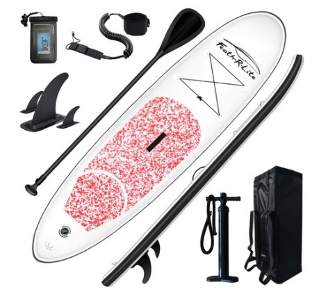 FEATH-R-LITE Inflatable SUP Board