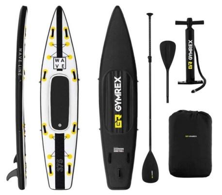 GR Gymrex Planche De Sup Stand Up Paddle Gonflable Board Planche De Surf
