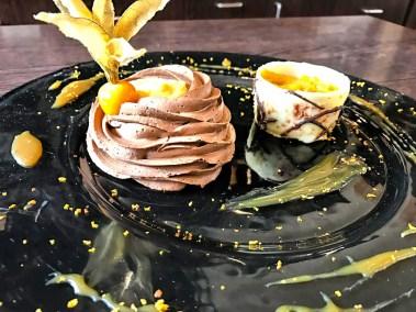 Orangen-Schoko Mousse