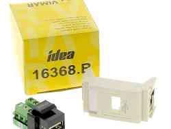 Prise USB 1 Module VIMAR … Confort