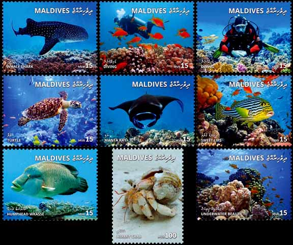 Maldives stamps