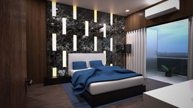 High Rise Bedroom