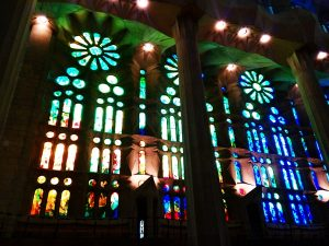 vitraux sagrada familia