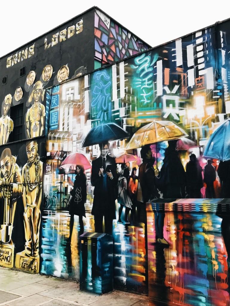 camden street art londres