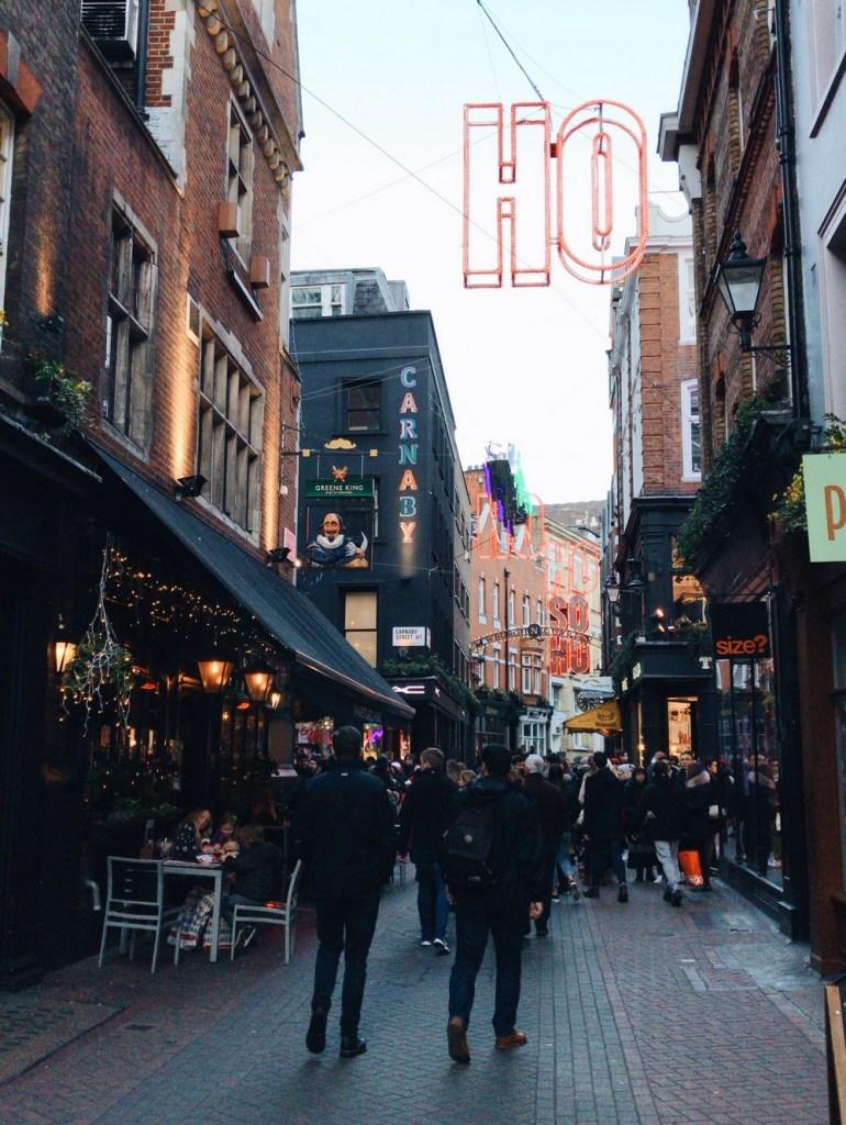 carnaby street londres