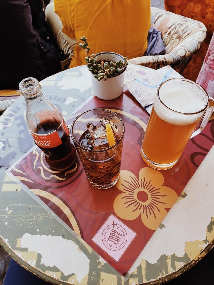 aperitivo rome taba cafe