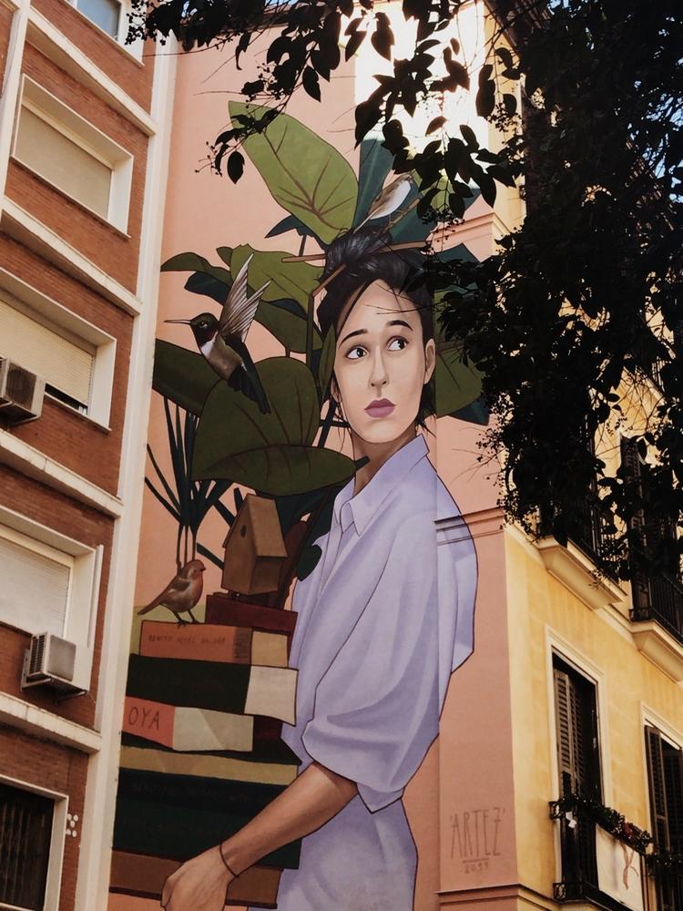 street art madrid chueca
