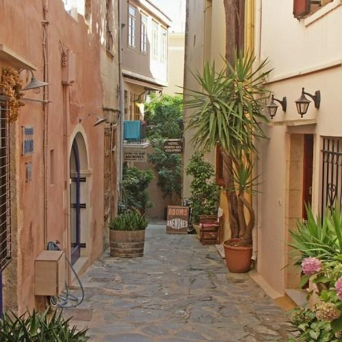 vieille ville la canée crete grece