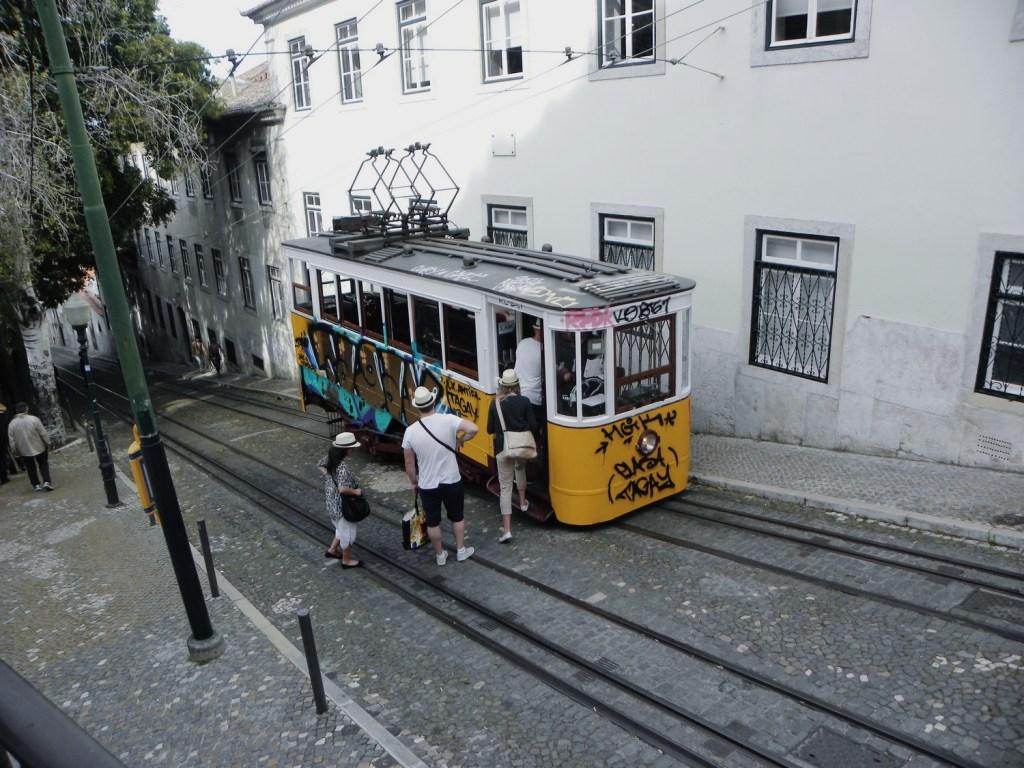 tramway elevador lisbonne