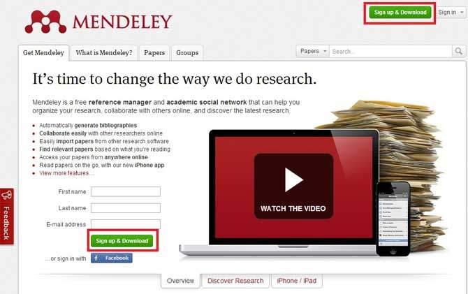 Como elaborar referências bibliográficas sem drama: Mendeley!