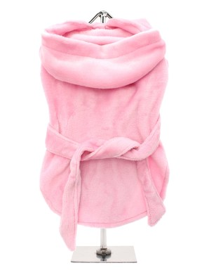 Pink-Dog-Bathrobe