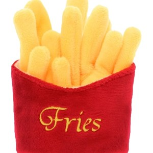 Fries Squeaky Dog Toy