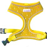 Crystal Airmesh Dog Harness In Yellow