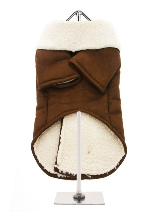 Brown-Shearling-Aviator-Dog-Coat-3