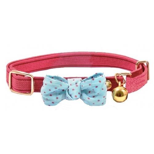 Funky-Bow-Cat_Collar-Pink