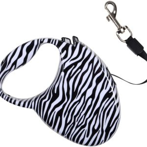 Zebra-Auto-Retractable-Lead