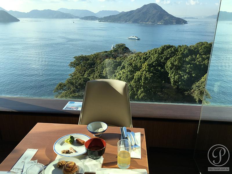 Grand Prince Hotel Hiroshima buffet
