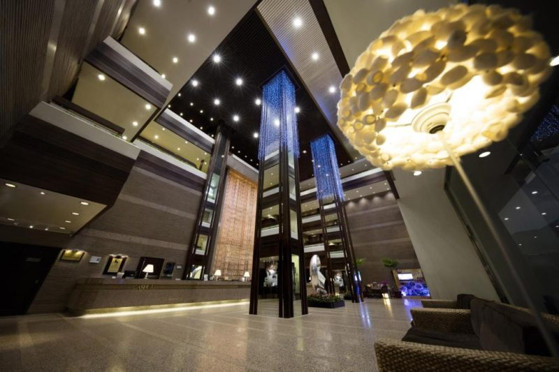 麗豪酒店大廳