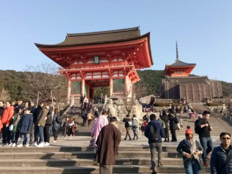a journey to japan kiyomizu temple