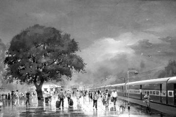 Rail Ki Raat - Ilachandra Joshi