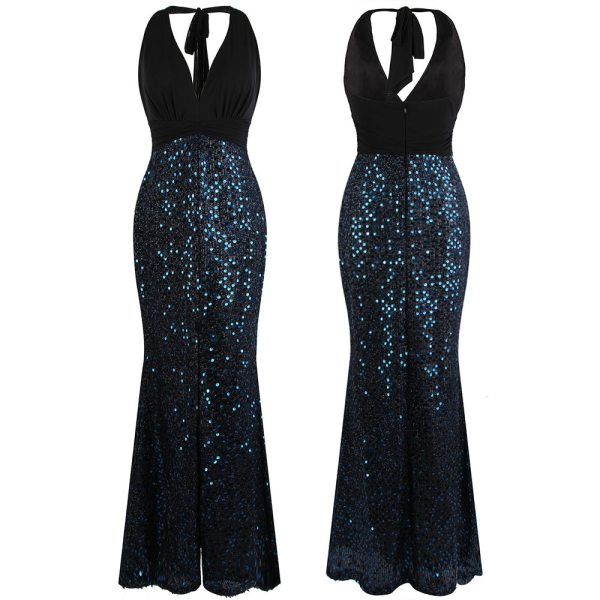 Sequin Evening Party Gown