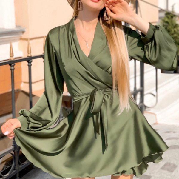 Satin Elegant Party Dress