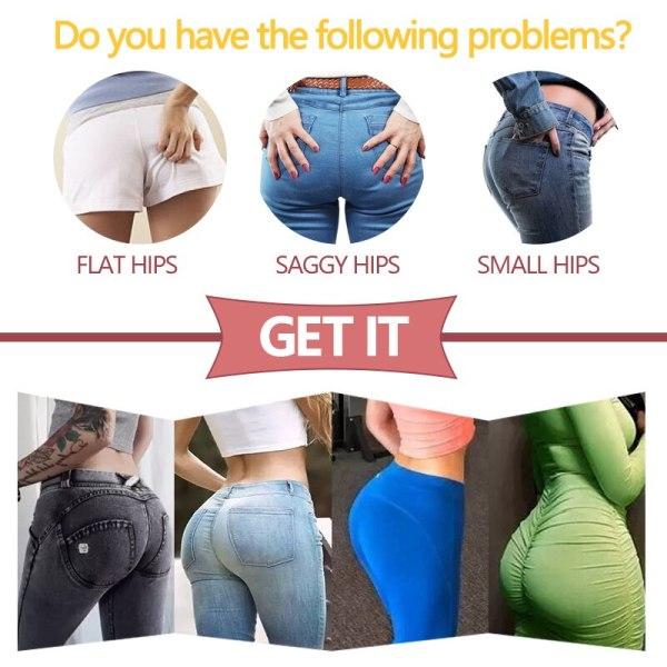 Women Body Shaper Padded Shorts Butt Lifter Tummy Control Panties High Waist Padding Boyshort Pads Booty Hip Enhancer Shapewear