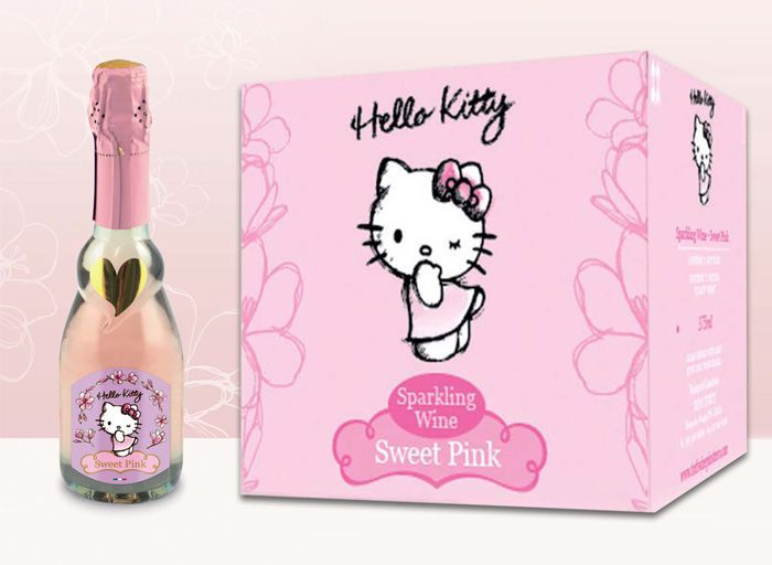 Hello Kitty Wine Is Here: Six Types Of Wine