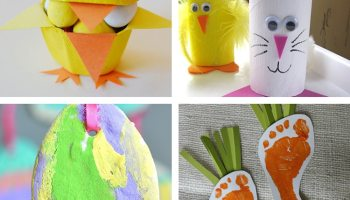 Diy easter crafts and recipes you need to try this weekend posh easter craft ideas for kids negle Choice Image