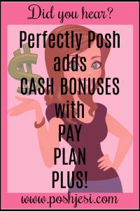posh cash bonus
