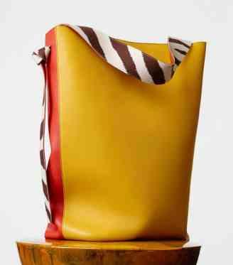 CÉLINE OVERSIZED TWISTED CABAS BAG $2,350