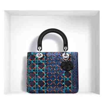 LADY DIOR BAG SEQUINNED JACQUARD