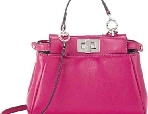 Pre-Order Fendi Peekaboo Micro Satchel Bag