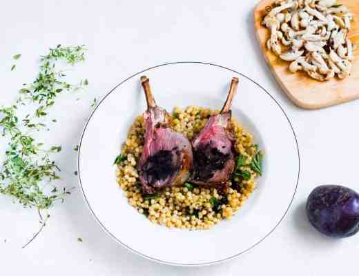 Frenched Rack of Lamb