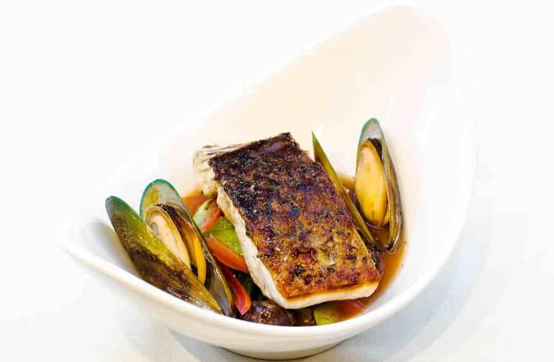 Crispy Skin Sea Bass