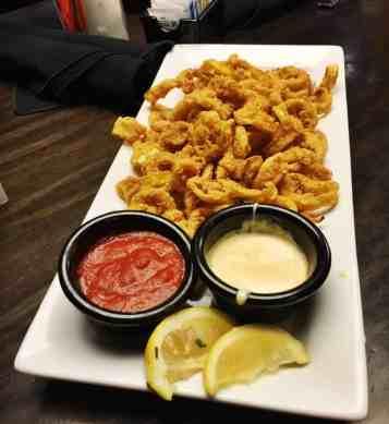 Dave & Buster's Fried Calamari